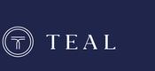 Teal logo white